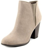 Fergalicious Punch Women Round Toe Synthetic Gray Bootie.