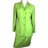 Gianni Versace Green Wool Jacket for Women Vintage