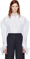 Jacquemus White la Chemise Bouton Shirt