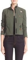 Tomas Maier Women's Stretch Poplin Jacket