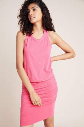 Sundry Ruched Sleeveless Dress