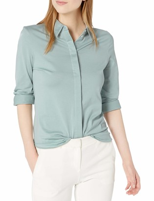 Theory Women's Fitted Shirt Kint
