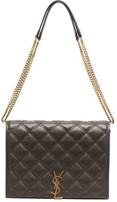Saint Laurent small Becky quilted shoulder bag
