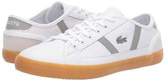 Lacoste Sideline 319 1 (White/Navy) Women's Shoes