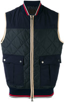 Salvatore Ferragamo quilted gilet - men - Polyester - 52