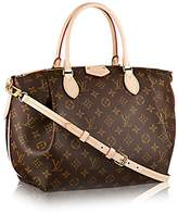 Louis Vuitton Authentic Canvas Turenne MM Tote Bag Handbag Article: M48814 Made in France