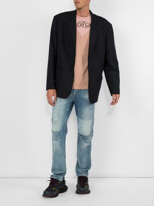 Acne Studios indigo 1996 patch jeans