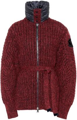 Moncler Wool and alpaca-blend cardigan