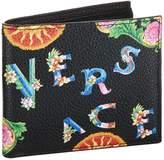 Versace Printed Bifold Wallet