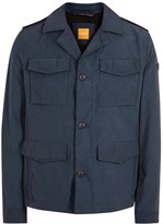 Boss Oricky Navy Cotton Blend Field Jacket