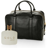jay z Gold Two-Piece Fragrance & Power Weekender Bag Set