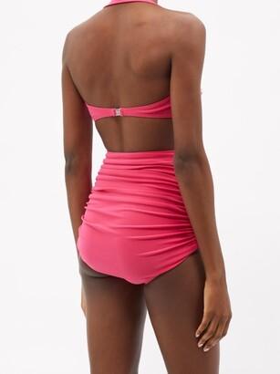 Norma Kamali Bill High-rise Bikini Briefs - Pink