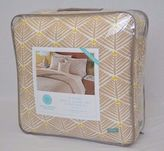 Martha Stewart Palm Fronds Beige Twin Xl Reversible 3-piece Comforter Set