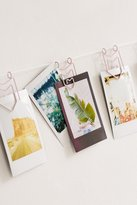 Urban Outfitters Matte Pennant Photo Clips String Set