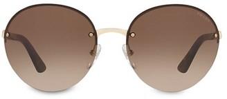 Prada Heritage 61MM Round Sunglasses