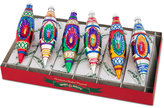 Christopher Radko Shiny Brite Traditional Brights Reflector Tulips Boxed Ornaments, 6-pc. Set