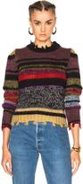 Etro Violet Stripe Sweater