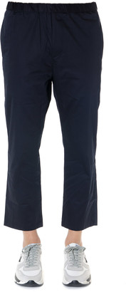 Oamc Blue Cotton Cropped Pants