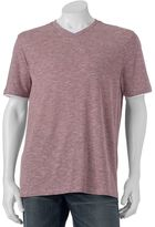 Method Products Men's Classic-Fit Striped Slubbed Mock-Layer Tee