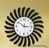 JinRou Wall clock JinRou Personality fashion contemporary Time Ring/Mute The Creative Personality Of Simple European-Style Living Room Hanging Clock