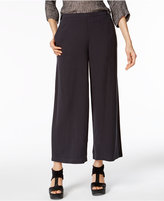 Eileen Fisher Woven Tencel® Cropped Wide-Leg Pants