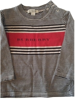 Burberry Black Cotton Top