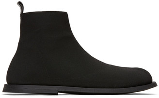 Marsèll Black Ambello High-Top Sneakers