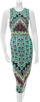 Mara Hoffman Geometric Print Midi Dress w/ Tags