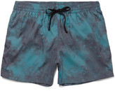 Everest Isles - Anton Mid-length Printed Swim Shorts