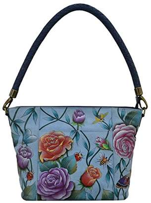 Anuschka Hand Painted Leather Women's Medium HOBO