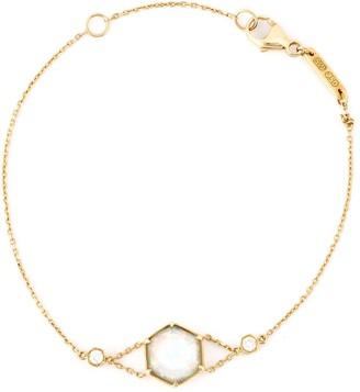 Stephen Webster 18kt Rose Gold Faceted Quartz And Diamond Bracelet
