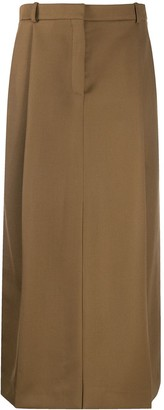Nina Ricci High-Waisted Maxi Skirt
