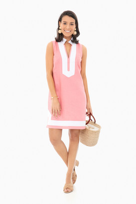 Sail to Sable Coral Sleeveless Classic Tunic