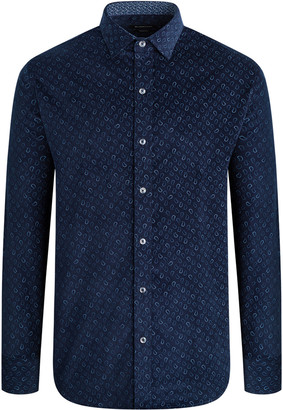 Bugatchi Men's Paisley Printed Button-Down Shirt