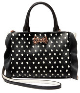 Betsey Johnson Flouncin Around Top Handle Bag