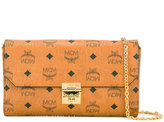 MCM logo print clutch - women - Artificial Leather - One Size