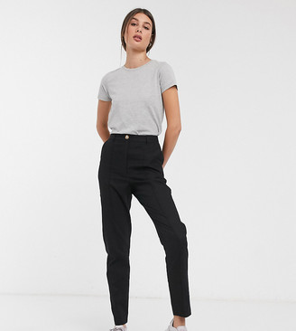 Asos DESIGN Tall ultimate linen cigarette pants