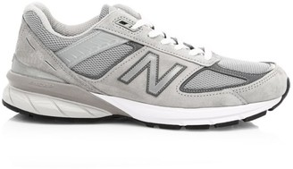 New Balance Men's 990v5 Made in US Mesh Sneakers