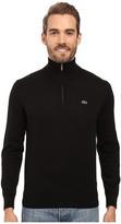 Lacoste Segment 1 1/4 Zip Jersey Sweater