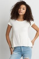 American Eagle Outfitters AE Soft & Sexy Peplum T-Shirt
