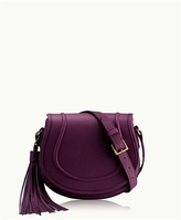 GiGi New York Jenni Saddle Bag Pebble Grain