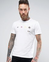Paul Smith Target T-Shirt Slim Fit In White