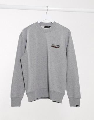 Napapijri Base C sweatshirt in grey