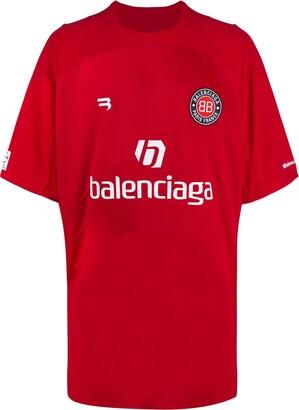 Balenciaga Soccer printed T-shirt