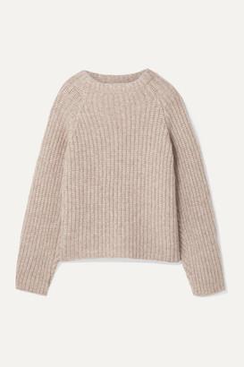 BEIGE Envelope1976 - Seoul Ribbed Alpaca-blend Sweater
