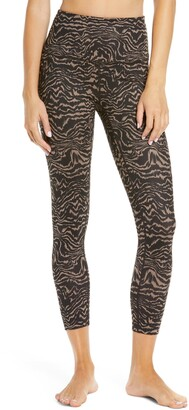 Zella Studio Lite High Waist Print 7/8 Leggings