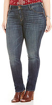 Lucky Brand Plus Emma Straight Leg Jeans