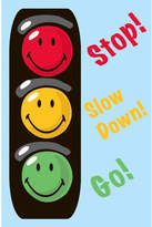 Fun Rugs Smiley World Traffic Signal Blue Area Rug Rug
