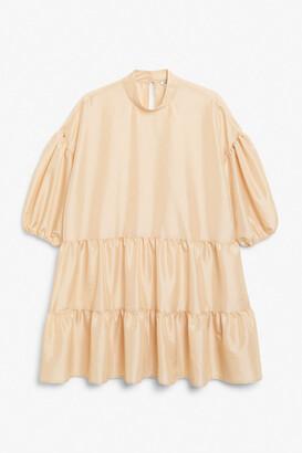 Monki Mini trapeze dress