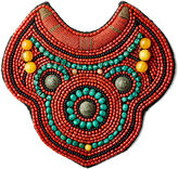 Iris Apfel Jewelry Beaded Bib Necklace